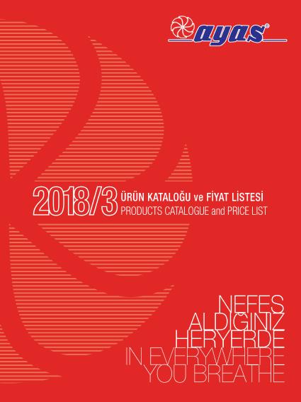 AYAS ASPİRATÖR 2018/3 FİYAT LİSTESİ